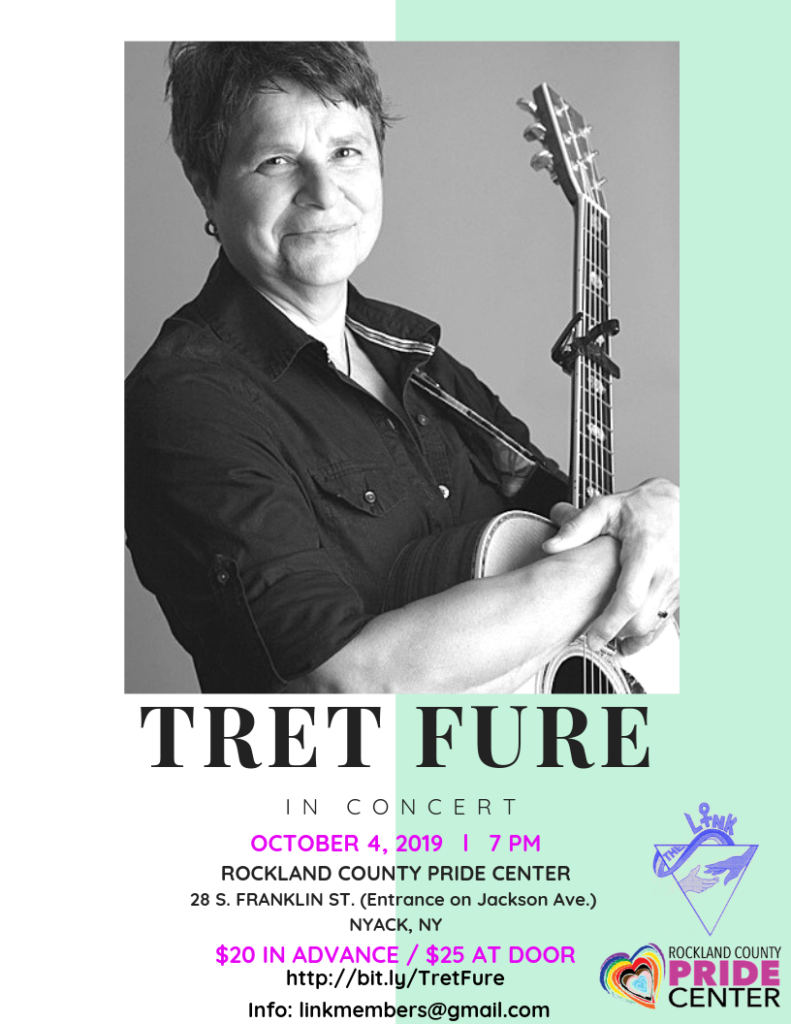 flyer featuring a photo of Tret