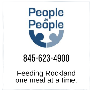 People to People: Phone 845-623-4900, Feeding rockland one meal at a time
